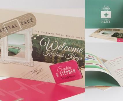 Destination Wedding Hotel Booklet