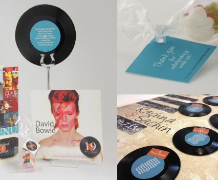 Vinyl Music Stationery