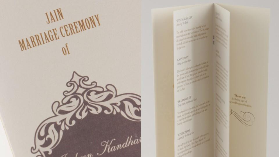 Ceremony Booklet