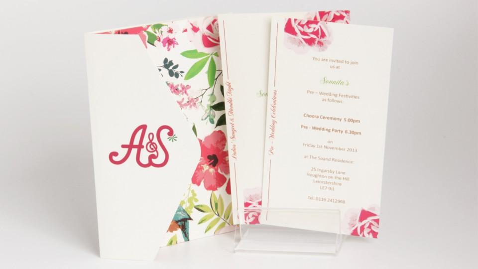 Envelope Fold Invitation
