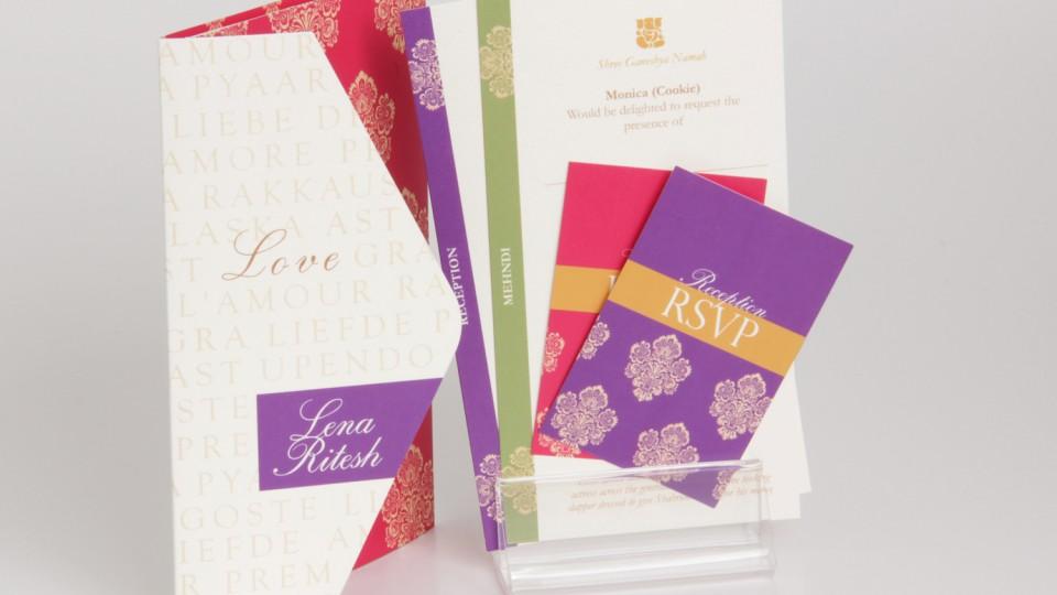 Envelope-Fold Invitation