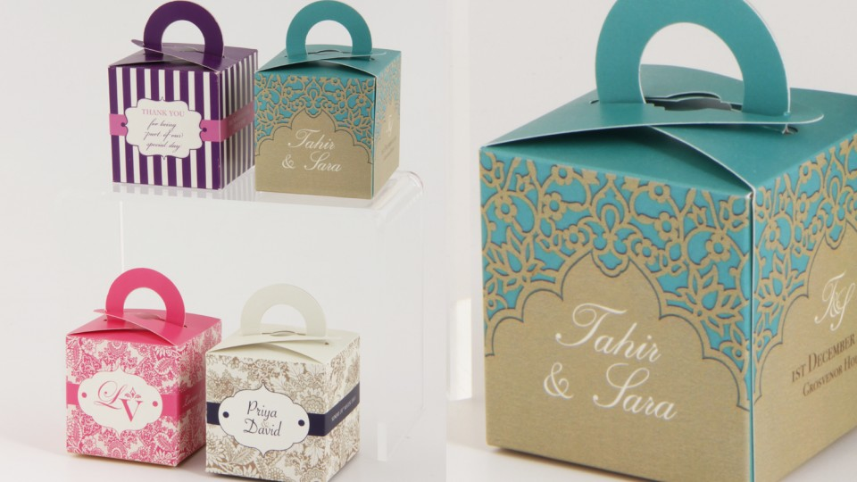 Favour Boxes with Handles
