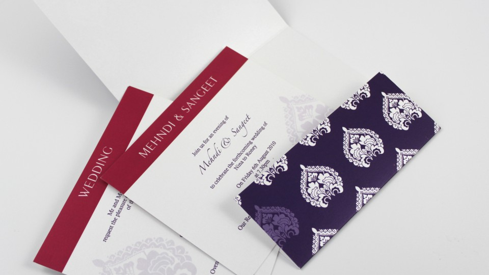 Flap-Fold Invitation Inside