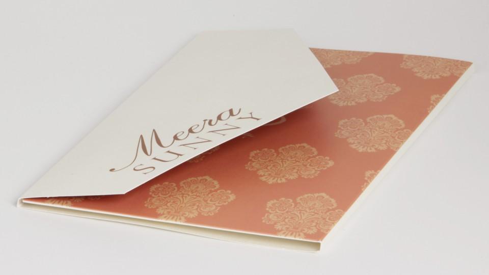 Large Envelope-Fold Invitation