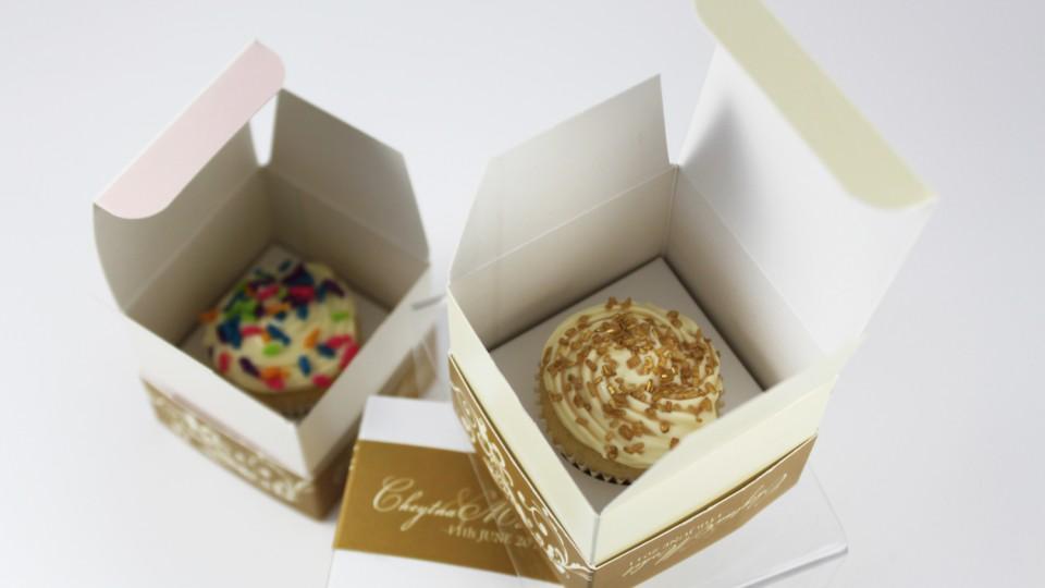 Mini Cupcake Favour Boxes