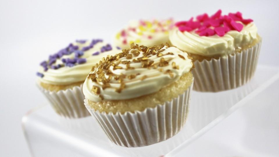 Mini Eggless Cupcakes