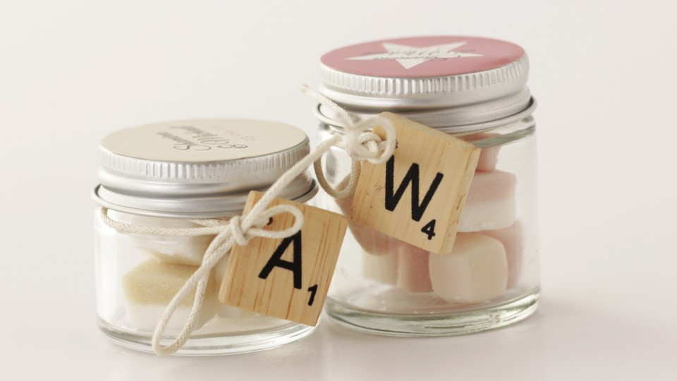 Mini Glass Favour Jars