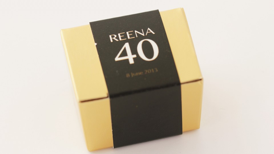 Mini Personalised Favour Box